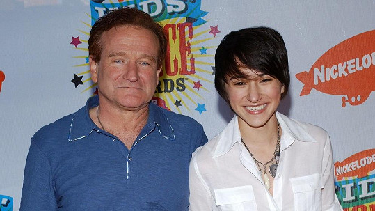 Zelda Williams s otcem Robinem Williamsem