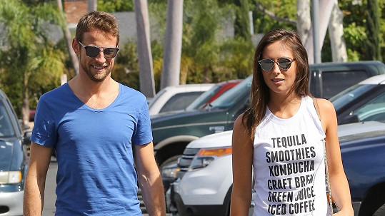 Jenson Button a Brittny Ward