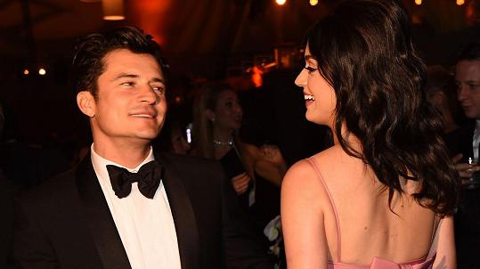 Mezi Katy Perry a Orlandem Bloomem to prý pěkně jiskřilo...