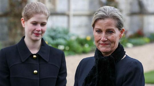 Sophie, hraběnka z Wessexu s dcerou Louise