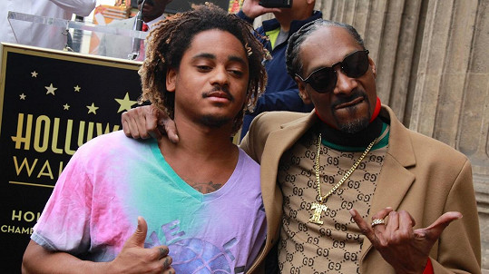 Corde Broadus se otcem Snoop Doggem
