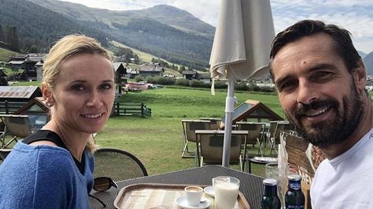 Roman Šebrle je s manželkou na dovolené v Itálii.