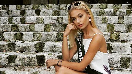 Kristýna Kubíčková na Miss Earth