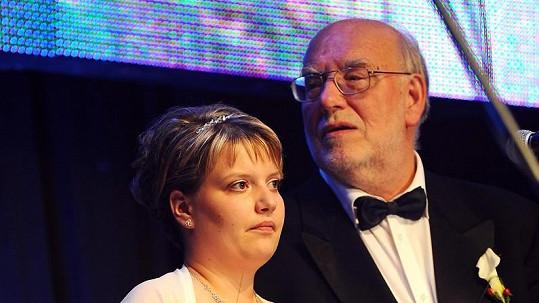 Jan Nedvěd se s Pavlínkou oženil přímo na jevišti.