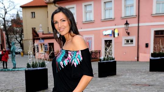 Andrea Vránová Kloboučková je štíhlá jako proutek.