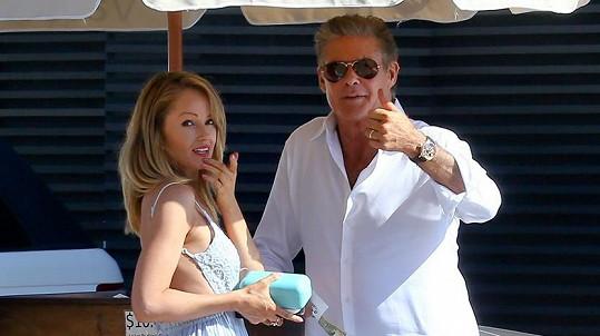 David Hasselhoff s Hayley Roberts
