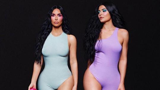 Kim Kardashian a Kylie Jenner