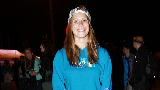 Eva Samková kvůli zranění vynechala charitativní běh.