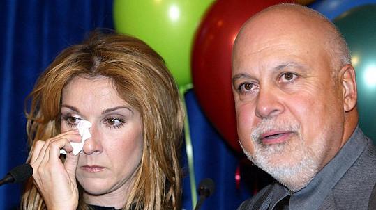 Manžel Céline Dion zemřel ve čtvrtek ráno v jejich domě.