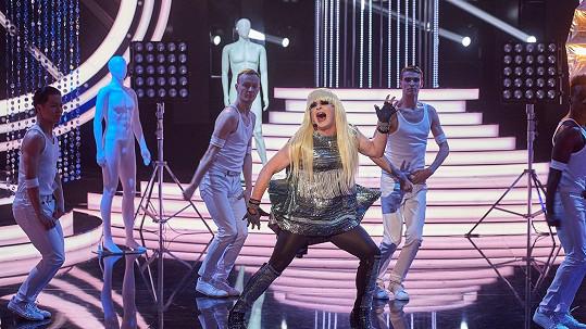 Aleš Háma jako Lady Gaga