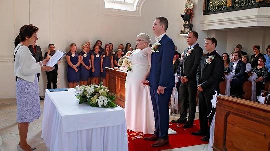 Muzikálová zpěvačka Pavlína Ďuriačová se vdala.