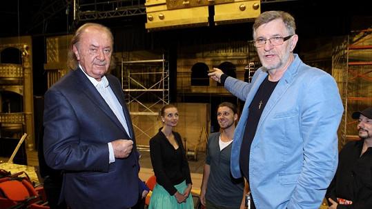 Producent František Janeček a režisér Petr Novotný popisují průběh příprav.
