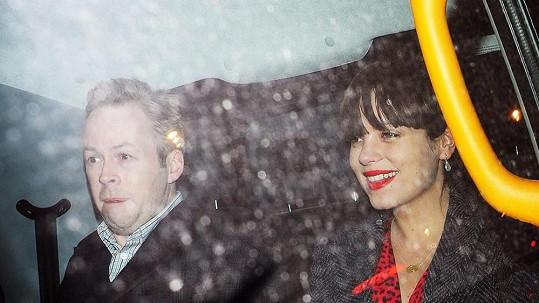 Lily Allen Cooper s manželem Samem Cooperem.