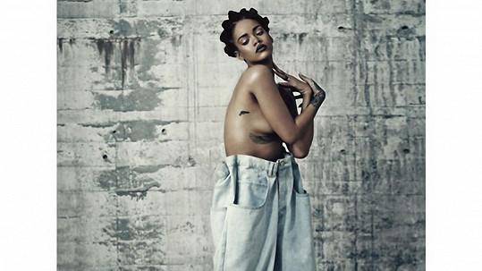 Rihanna pro i-D Magazine