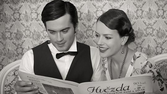 Andrea Růžičková (Kerestešová) a model Jan Havlovic. Více snímků ve fotogalerii