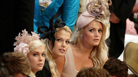 Nádherné sestry Spencerovy jsou Williamovy sestřenice.