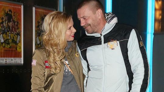 Tomáš Řepka a Kateřina Kristelová už lásku vůbec neskrývají.