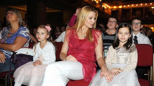 Ivana Gottová s dcerami.