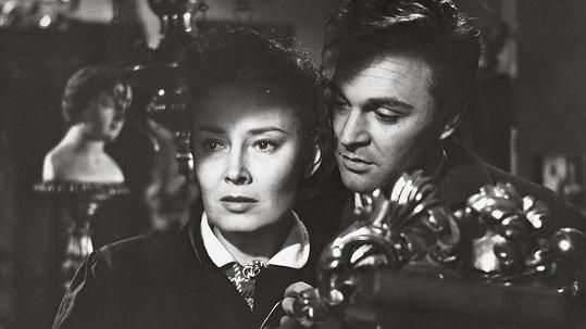 Lída Baarová slavila poslední úspěch ve filmu Darmošlapové (1953).
