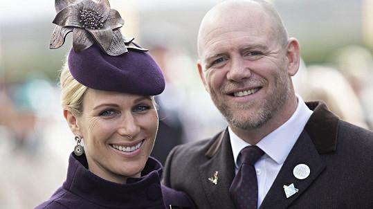 Vnučka královny Alžběty II. Zara a její muž Mike Tindall mají chlapce.
