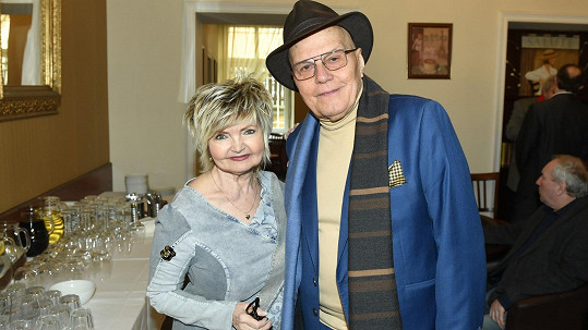 Manželství Evy Hruškové a Jana Přeučila trvá už patnáct let.