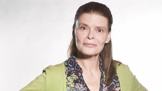 Zuzana Bydžovská v seriálu Gympl s (r)učením omezeným