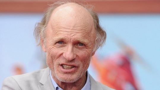Držitel čytř oscarových nominací se ukázal na filmové premiéře v Kalifornii.