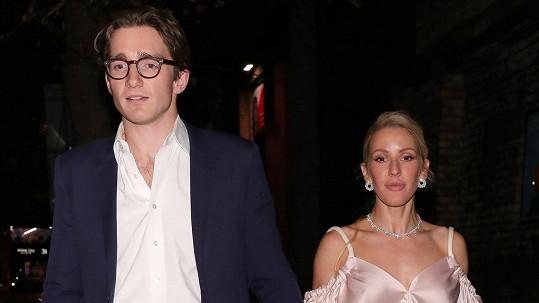 Ellie Goulding s manželem Casparem Joplingem