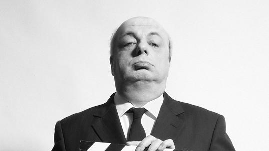 Milan Šteindler jako Alfred Hitchcock