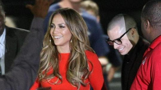 Jennifer Lopez a její Casper Smart.