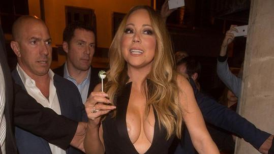 Mariah Carey v Paříži