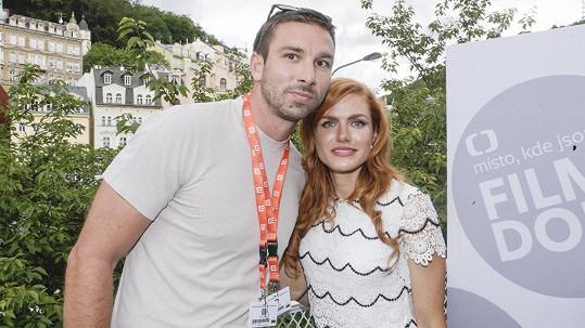 Gabriela Koukalová a Petr Koukal