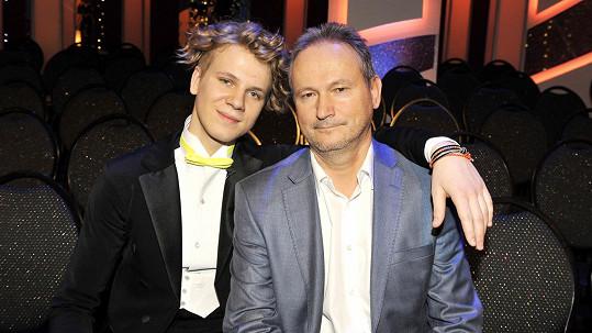 Zdeněk Piškula s tatínkem