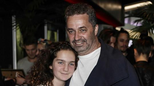 Martin Dejdar s dcerou Sárou
