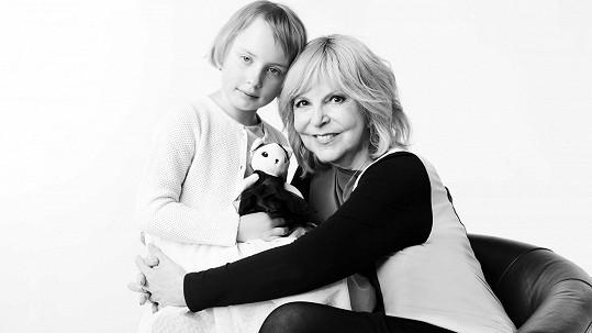 Ač sama není mámou, pomoct dětem ve složité situaci Hana Zagorová neodmítla.