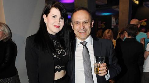 Karel Zaňák s přítelkyní Adélou
