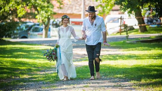 Kuba se oženil s dlouholetou přítelkyní Dominikou.