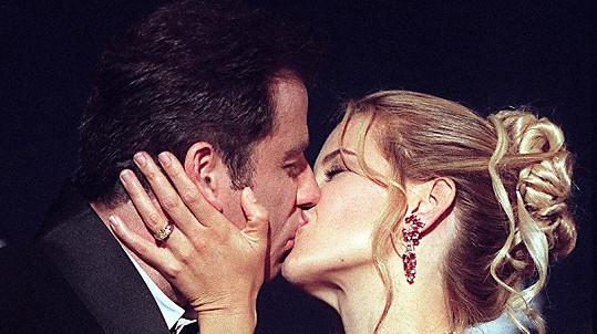 John Travolta s manželkou Kelly Preston, která v červenci zemřela na rakovinu.