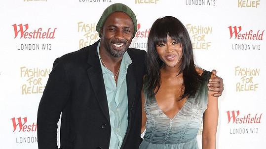 Idris Elba podlehl kouzlu Naomi Campbell.