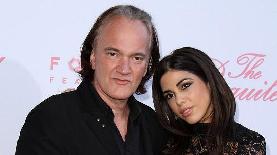Quentin Tarantino se snoubenkou