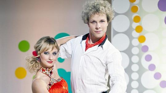 Honza Onder s partnerkou Lucíí Hunčárovou budou učit děti tančit.