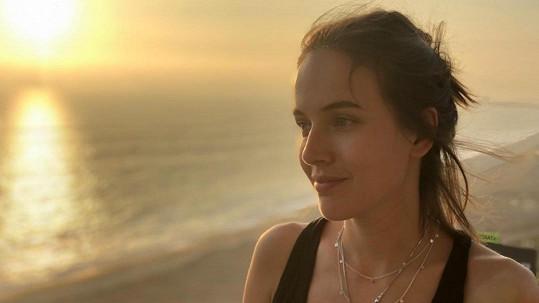 Tereza Voříšková navštívila poušť v Peru.