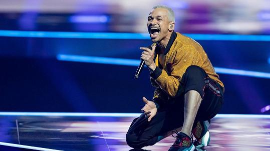 Ben Cristovao v semifinále Eurovize