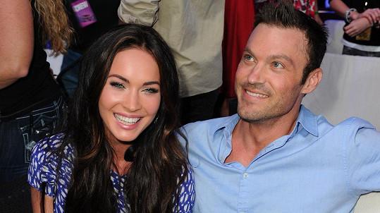 Megan Fox a Brian Austin Green se nerozešli poprvé.
