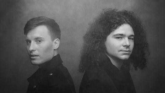 Filip Sázavský (vlevo) a Martin Chobot