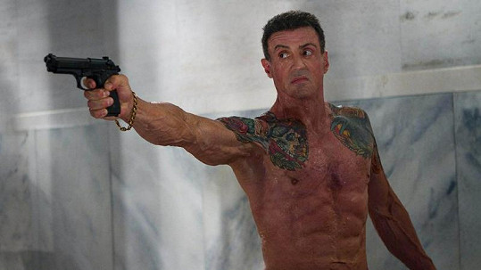 Sylvester Stallone v novém filmu Bullet To The Head.