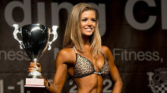 Magdaléna Kažimírová ze Slovenska se stala evropskou šampiónkou v bikiny fitness.