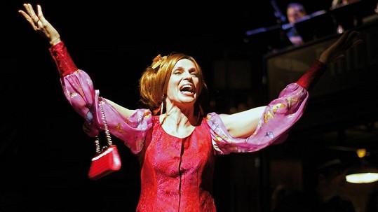 Ivana Chýlková v představení Hello, Dolly!
