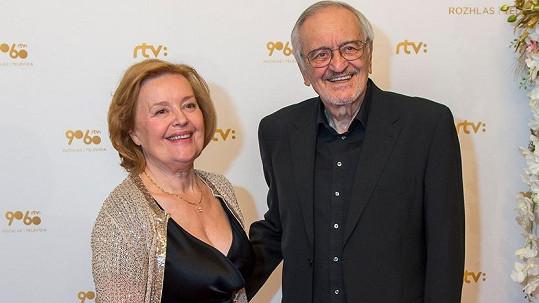 Magda Vášáryová s manželem Milanem Lasicou