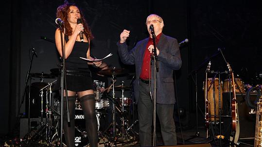 Eva Jeníčková a Jiří Suchý